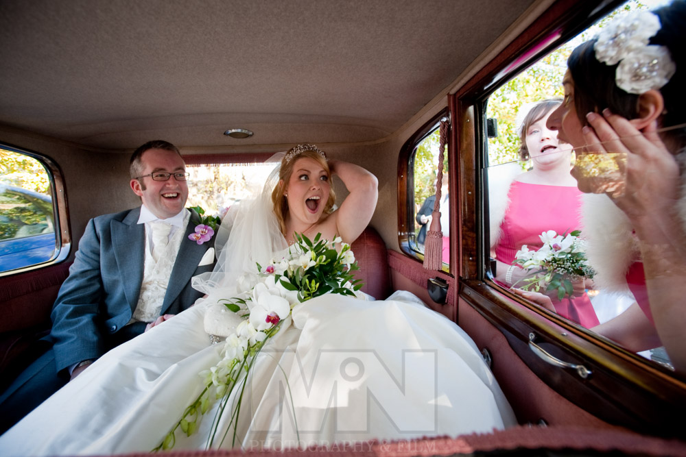 Swadlincote Derbyshire wedding car