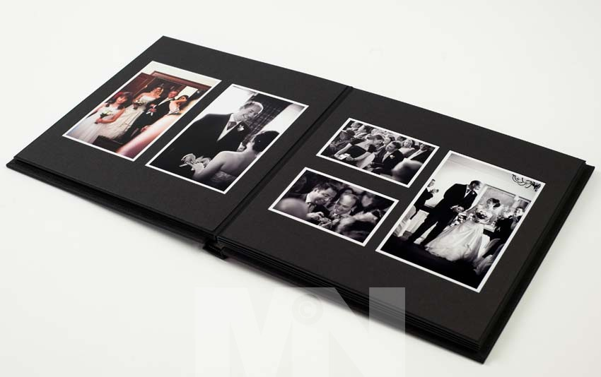 Jorgensen traditional wedding albums