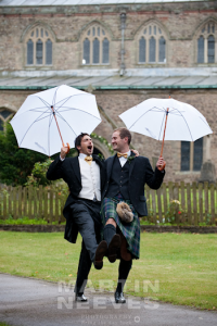 Wedding Photographer in all weathers