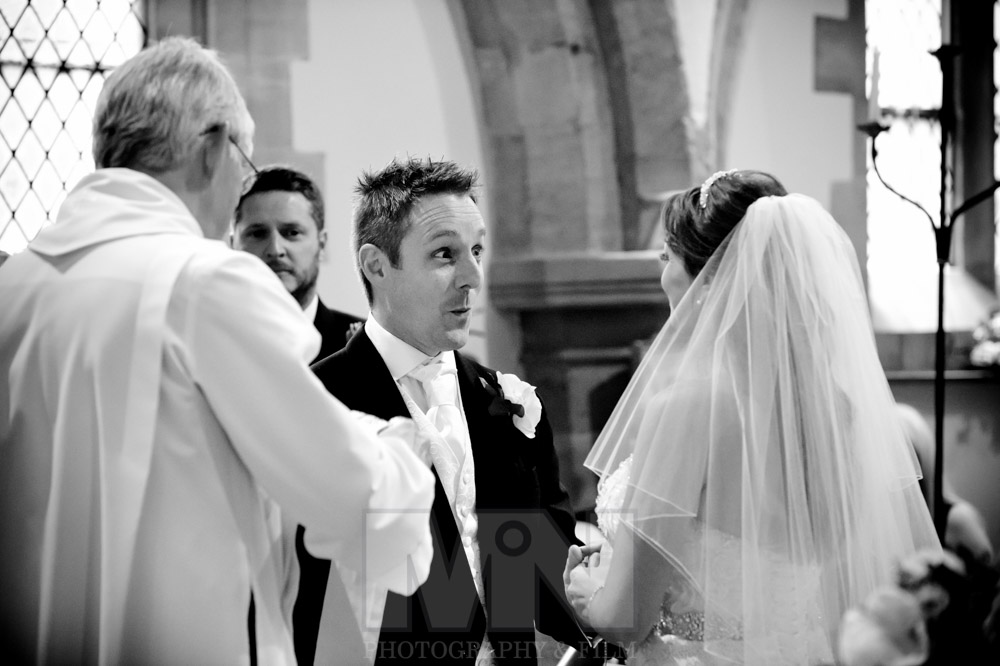 The wedding of Karen Giblin to Adam Richards at St. Bartholomew
